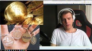 Инвестиции в криптовалюту. Мой вклад 55 500 рублей в Эфириум и Биткоин