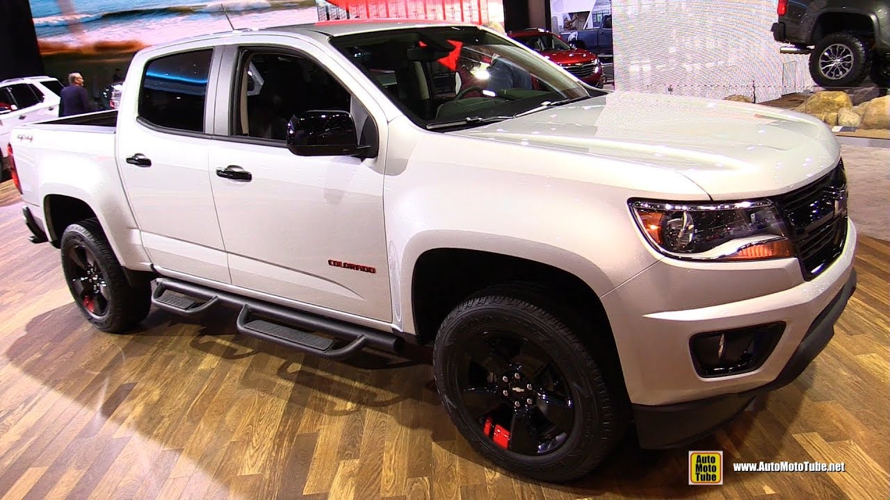 2017 Chevrolet Colorado Redline Edition - Exterior and ...