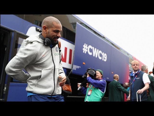 Dhawan out of the World Cup, Pant to replace him