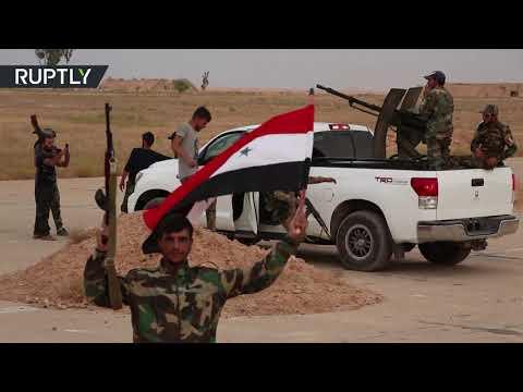 الجيش السوري يدخل قاعدة الطبقة الجوية لأول مرة منذ عام 2014  - 13:55-2019 / 10 / 18