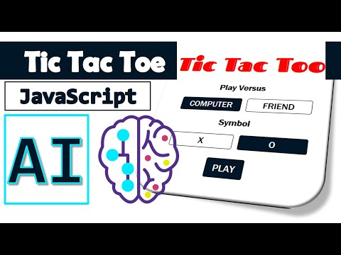 Tic Tac Toe with AI in JavaScript [BEGINNERS][PART1] thumbnail