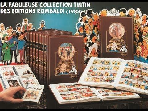 TINTIN : La collection ROMBALDI