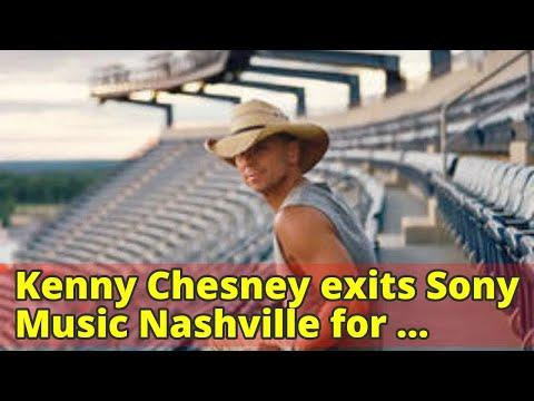 Kenny Chesney exits Sony Music Nashville for Warner Bros.