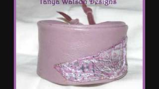 Leather Bracelets Tanya  Watson Designs