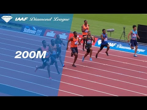 Akeem Bloomfield 19.81 Wins Men's 200m Men - IAAF Diamond League London 2018