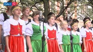 České děti z Ukrajiny vystoupily na Staroměstském náměs…