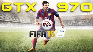 FIFA 15 | GTX 970 NON-OC | DSR - 2160p Max Settings | FRAME-RATE TEST