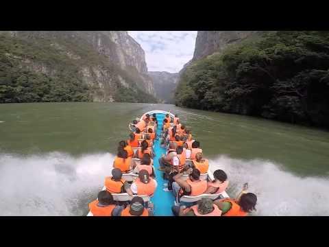 Wonders of Mexico - Cañon del Sumidero, Chiapas
