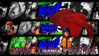 KOF 2002 NO ANDROID: k9999 combo+passo a passo