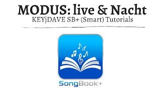 (ST) SongBook+ LiveModus, NachtModus, automatische Wiedergabe