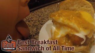 Breakfast Sandwich - Breakfast Sandwich Recipe - Tailgate Food