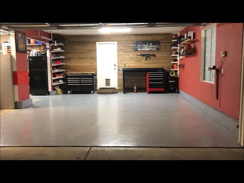 Remodeling My Garage In 5 Minutes!! Garage Update