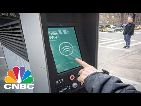 New York Shuts Down Free Wi-Fi Kiosks | CNBC