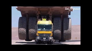 Monster cars that are bigger than apartments are the biggest dump trucks in the world