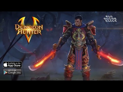 DUNGEON HUNTER 5 Gameplay Walkthrough Part 1 - IOS | ANDROID