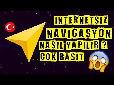 İnternetsiz Navigasyon Nasıl Yapılır? | 2019