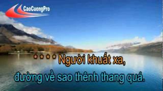 Thần thoại - Nhật Kim Anh ft Tô Tài Năng [karaoke]