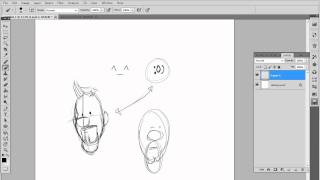 HUGE NOSE cartoon- A walk through of how I design my comic characters