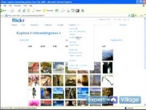Using Flickr to Share Photos : How to Use the Flickr Explore Tab