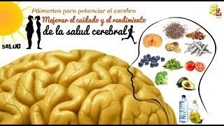 Alimentos para potenciar el cerebro, mejorar la memoria, proteger la mente