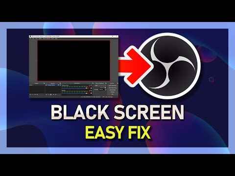 OBS Studio - Black Screen Game Capture Fix! - 2019