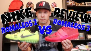 NIKE ROMALEOS 2 VS ROMALEOS 3 | POWERLIFTER REVIEW