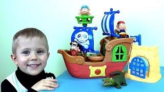 Мультик про пиратский корабль и малыша Даника - Видео для малышей