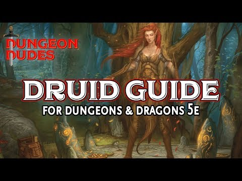 Druid Class Guide for Dungeons and Dragons 5e - YouTube