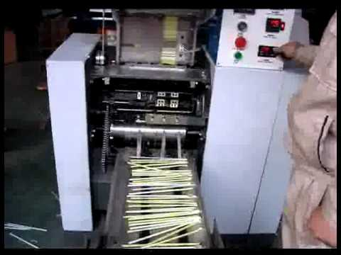 Spoon Straw Making Machine By Kic Products Com Youtube