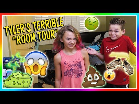 TYLER'S TERRIBLE ROOM TOUR | We Are The Davises