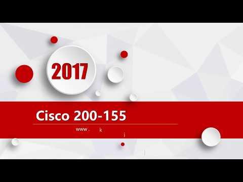 Cisco CCNA-Data-Center 200-155 latest exam questions