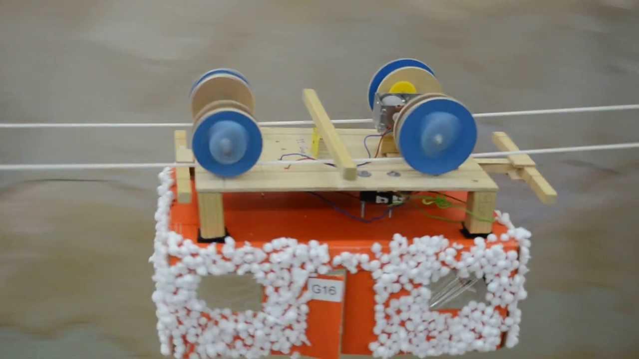 Proyecto tecnol gico telef rico rebotador youtube for Proyecto de criadero de mojarras