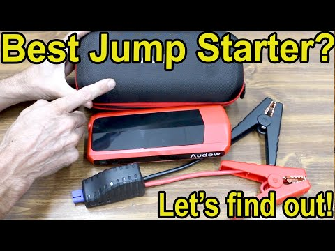 Which Car Jump Starter Is Best? Let's Find Out! NOCO GB40 Vs Duracell Vs Audew