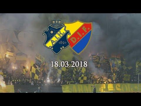 AIK-Djurgården (2018.03.18) Svenska Cupen