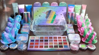 """Speacial Mega Unicorn"" Mixing Eyeshadow,Makeup and glitter Into Sl..."