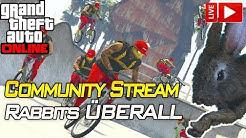 COMMUNITY STREAM, Rabbits ÜBERALL ! =D | Gta 5 Online Casino DLC | IRabbix PS4