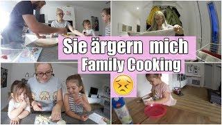 Wir kochen gemeinsam I Meine Mädels ärgern mich I Indoorspielplatz I Familienvlog