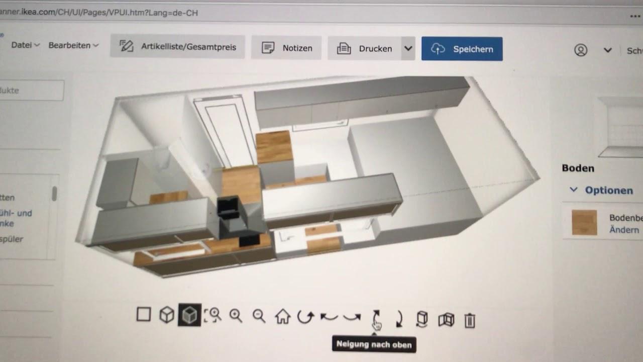 Unser Innenausbau Mit Ikea Planer Geplant Youtube