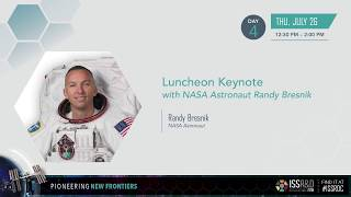 ISSRDC 2018: Luncheon Keynote with NASA Astronaut Randy Bresnik thumbnail