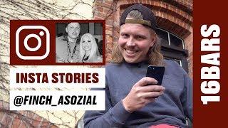 Insta Stories mit Finch Asozial: Lucy Cat, Plusmacher & Eko Fresh   16BARS