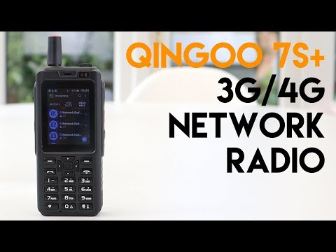 Qingoo 7S+ 4G Network Radio | Android PTT Device!