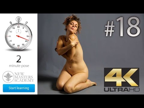 Art Model Reference (DLDS # 18) - 4K Timed Nude Figure Life Models Session