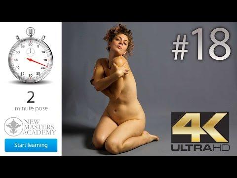 Art Model Reference (DLDS # 18) - 4K Timed Nude Figure Life Models Session