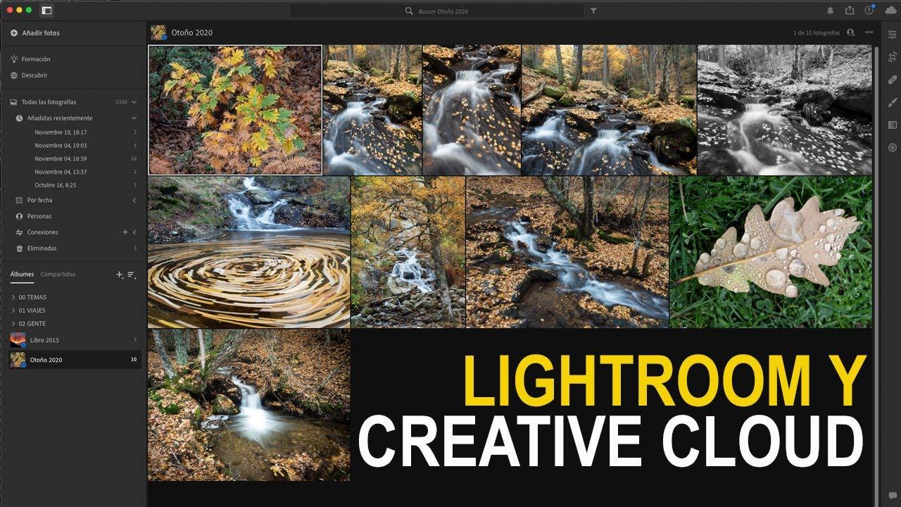 Cómo sincronizar tus colecciones de Lightroom Classic con Creative Cloud