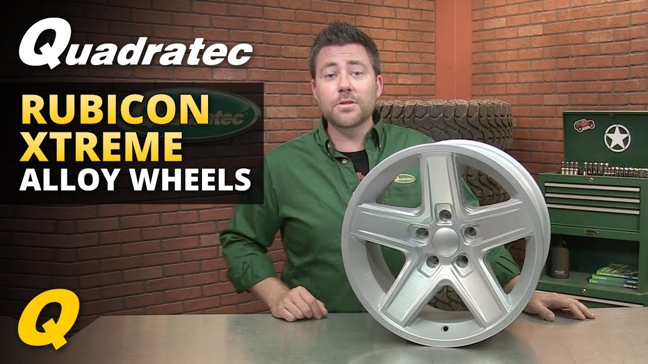 Jeep Wheel Tire Packages Quadratec >> Quadratec Rubicon Xtreme Wheel For Jeep Vehicles Review Youtube