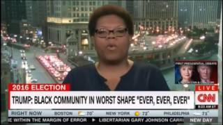 Black Trump supporter DESTROYS CNN
