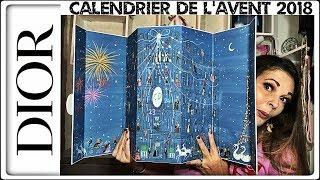 UNBOXING : CALENDRIER DE L'AVENT DIOR 2018  (Unboxing calendrier par Sand Cook&Look)