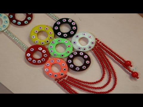 Amazing! Reuse ideas with hair rubber bands | Waste out of best - Wall Hanging using waste materials