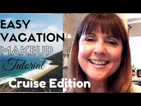 Easy Vacation Makeup Look (Cruise Edition)