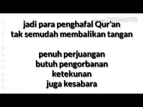Mars Muroja'ah Hafiz indonesia 2017 ( Lirik )
